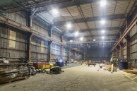 Teesside Marine MRO Supplier chooses Intelligent LED lighting for Fabrication Shed and saves 78%