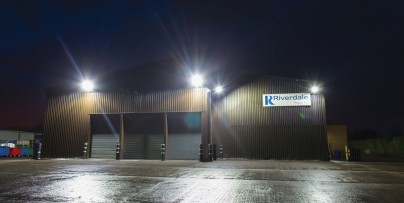 N.E Paper recycling firm chooses CREE LED floodlights to avoid maintenance headaches